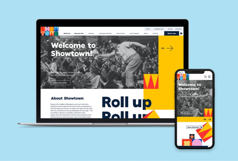 True North's playful identity for Blackpool's first-ever museum