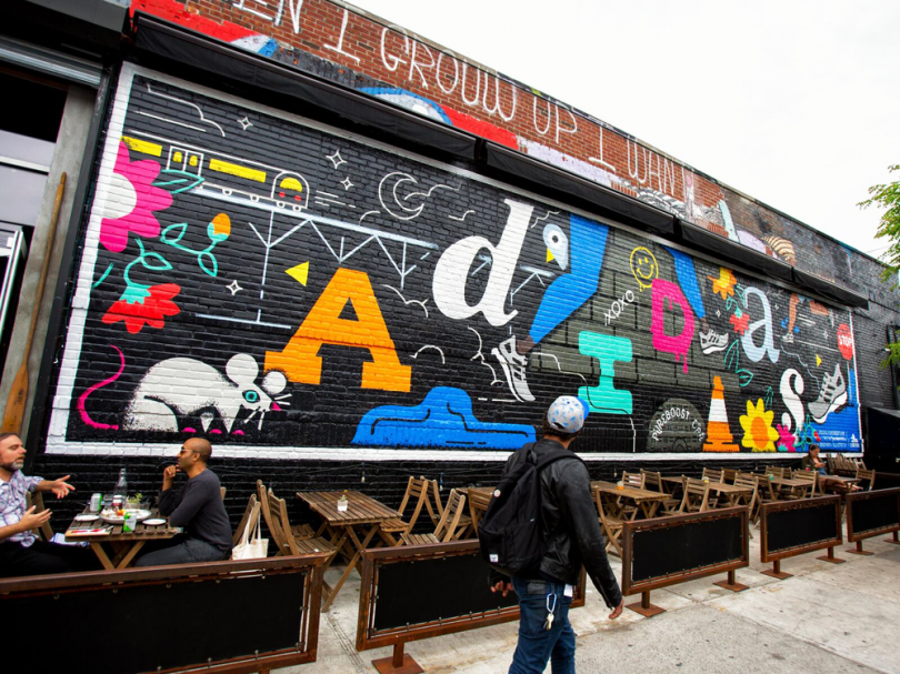 Mural for Adidas