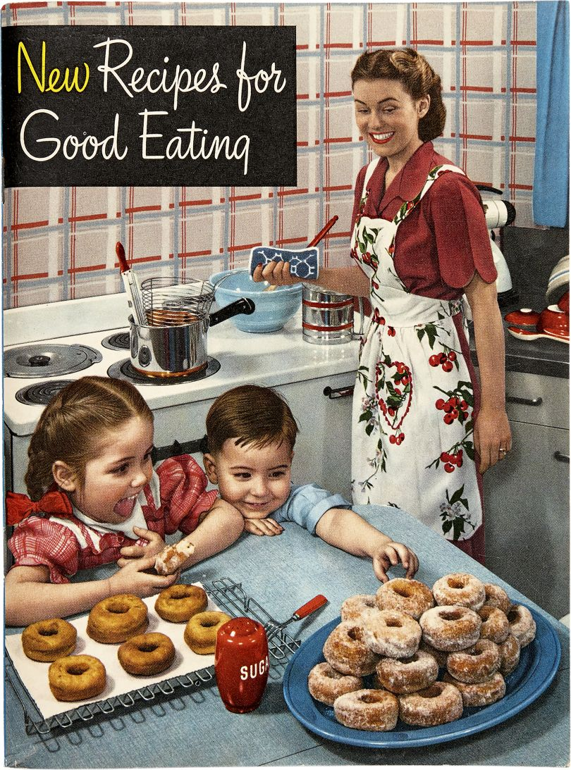 Photographer unknown 'New Recipes for Good Eating' Crisco, Proctor and Gamble, Cincinnati, 1949