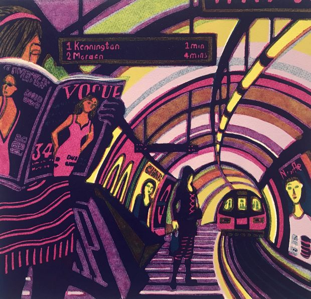 Retail Therapy II – Gail Brodholt. Via Creative Boom submission. All images courtesy of the Printmaker's London and the artists