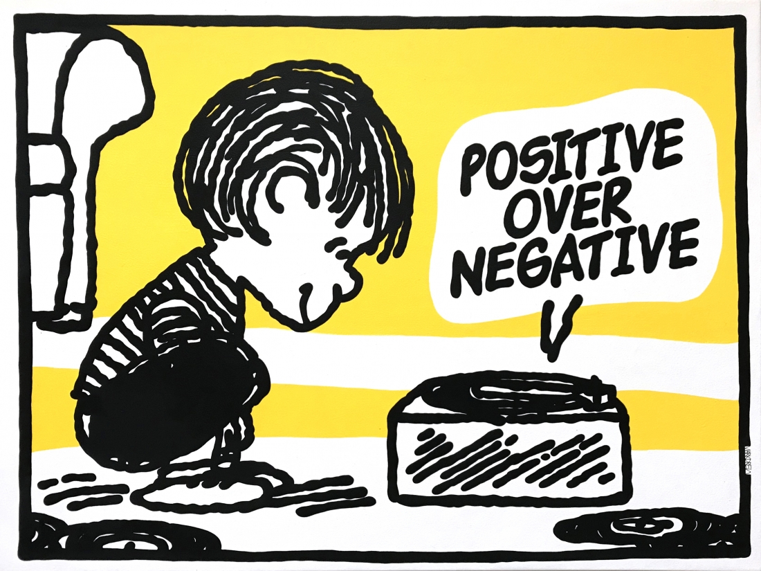 Mark Drew, Positive Over Negative [CL Smooth], Courtesy of the artist