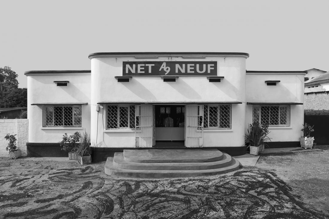 "Building ""Net a Neuf"", Bujumbura, Burundi, around 1940 © Photo: Jean Molitor"