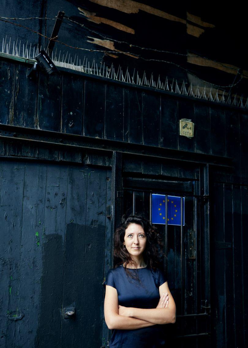 Portrait of Sarah Boris - Photography by Lorna Allan