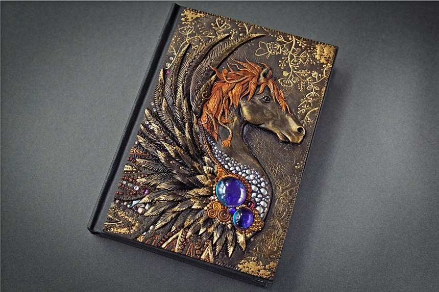 Most Beautiful Book Covers Ever : Mandarin duck crafting the most beautiful journals book