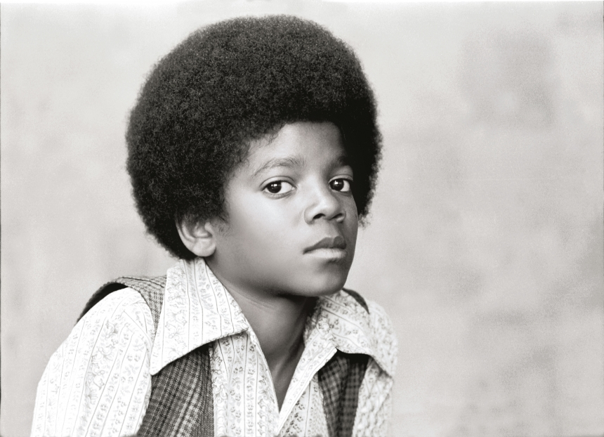 Michael Jackson at Motown's Los Angeles offices, April 1971 | Image credit: Michael Jackson, © Henry Diltz, 1971