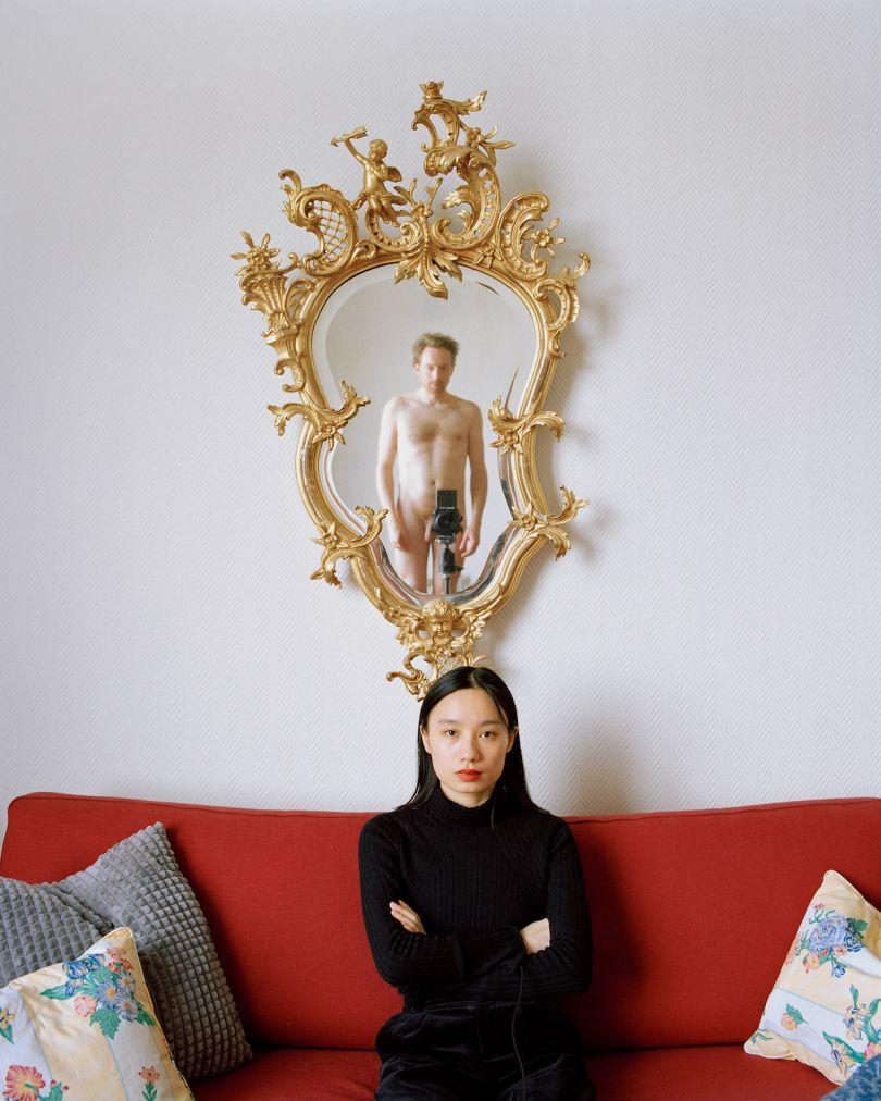 Yushi Li, The artist portrait (gallerist 1), 2019