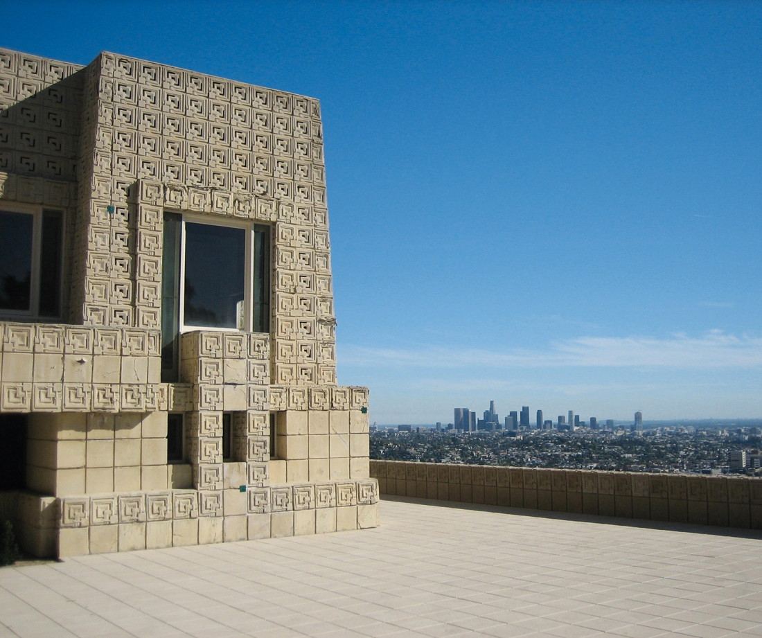 Ennis House, Los Angeles, California, USA, 1924, Frank Lloyd Wright. Picture credit: Vanessa Crawford
