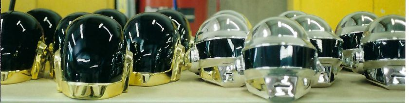 Townspeople helmets for Daft Punk's Electroma (Courtesy of Tony Gardner)