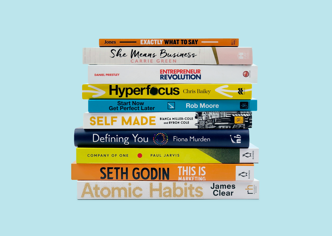 10 unmissable new books to help you start a creative small business