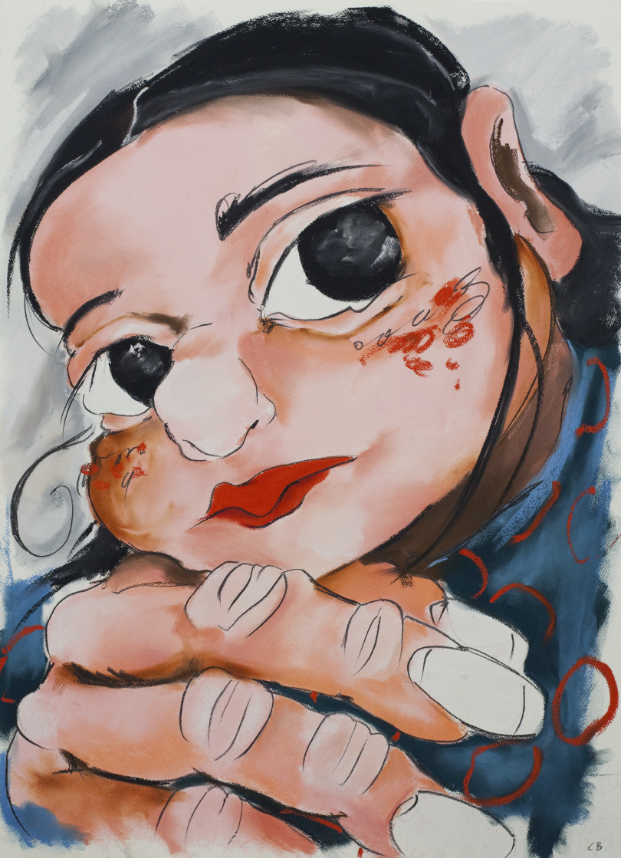 Juana, works on paper © Cristina BanBan