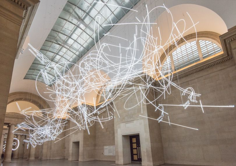 Cerith Wyn Evans Forms in Space by Light (in Time) 2017
