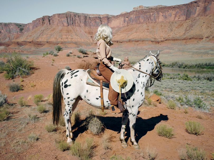The Imaginary Cowboy © Anja Niemi, The Little Black Gallery