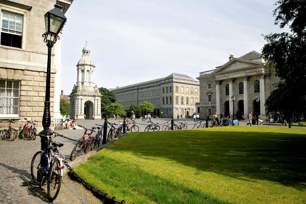 Trinity College Dublin | Image credit: Brian Morrison, courtesy of Visit Dublin