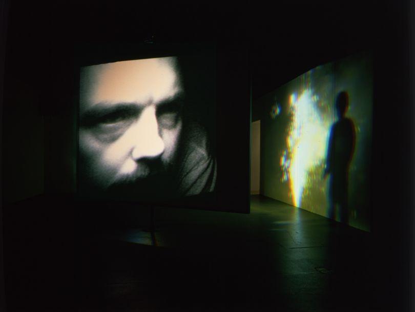 Slowly Turning Narrative, 1992Video/sound installationContinuously runningCourtesy Bill Viola Studio© Bill ViolaPhoto: Gary McKinnis