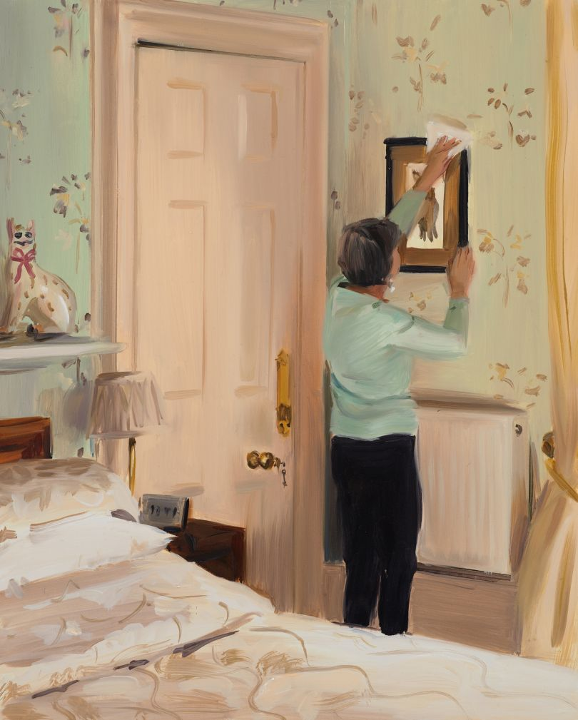Caroline Walker Dusting Pictures, Late Morning, March, 2019