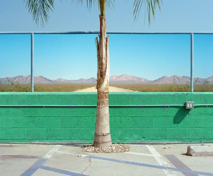 Desert Pit Stop, 2018 © George Byrne
