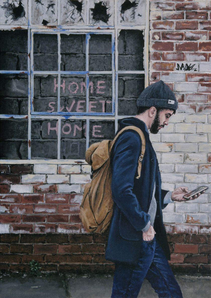 Home Sweet Home (Ouseburn), 2021 © Peter Davis