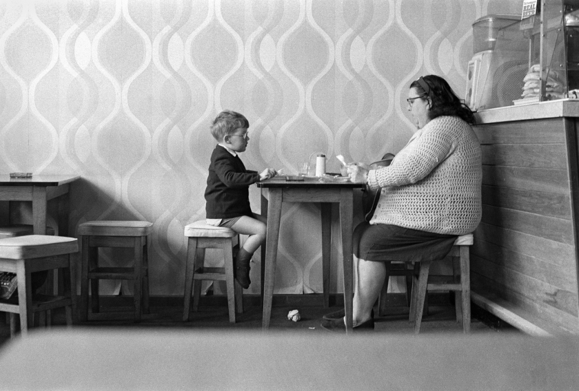 Gino's Coffee, Leeds, 1969 © Eric Jaquier