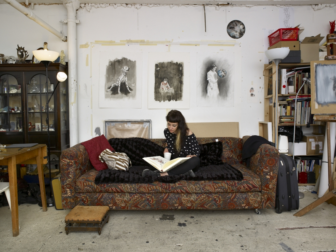 Manchester Artist Rachel Goodyear Takes Us On A Tour Of Her Studio At Islington Mill