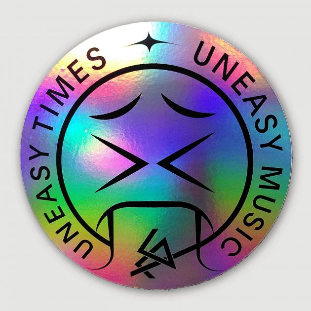 CTM Uneasy Times sticker