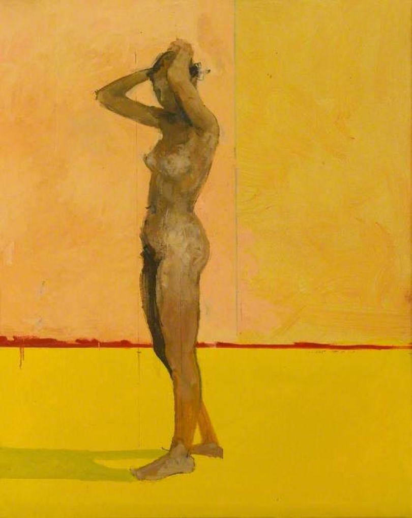Victor Willing, Standing Nude, 1955, oil on canvas © The Artist's Estate. Arts Council Collection, Southbank Centre, London