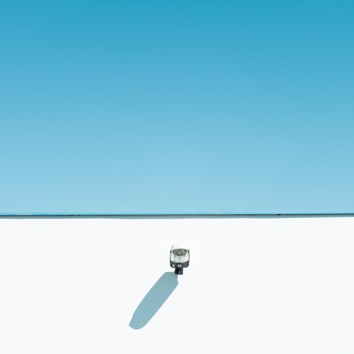 Geometric minimalist photography of pastel coloured for Famous minimalist buildings