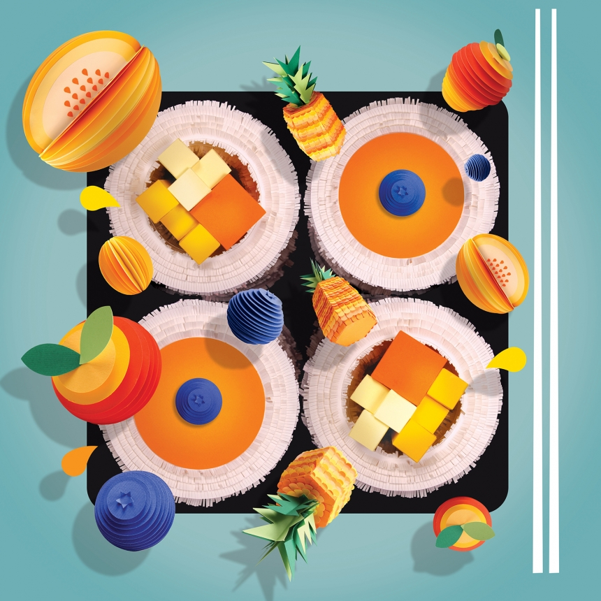 Waitrose Weekend Magazine Frushi