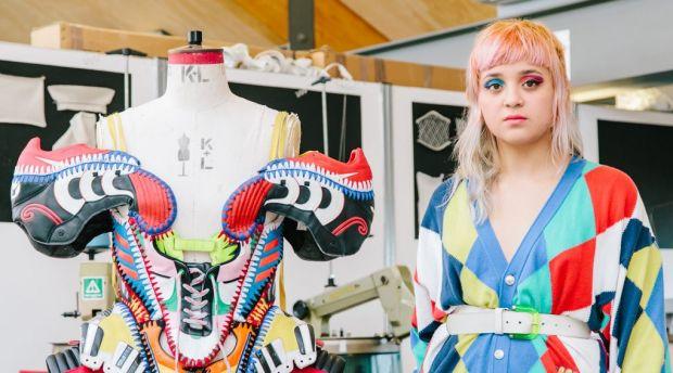 Paolina Russo, BA Fashion Knitwear. Image courtesy of MullenLowe