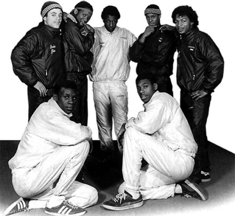 Broken Glass Street Crew 1983