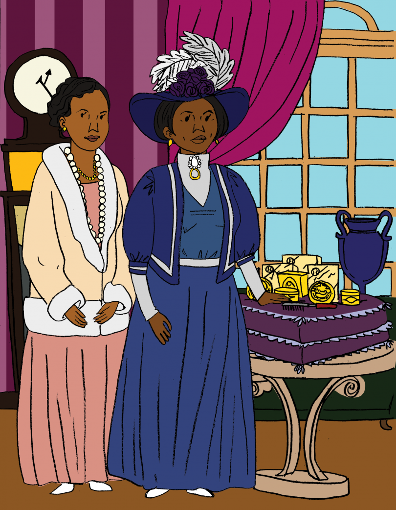 Madame C.J. Walker, from the book A Black Woman Did That