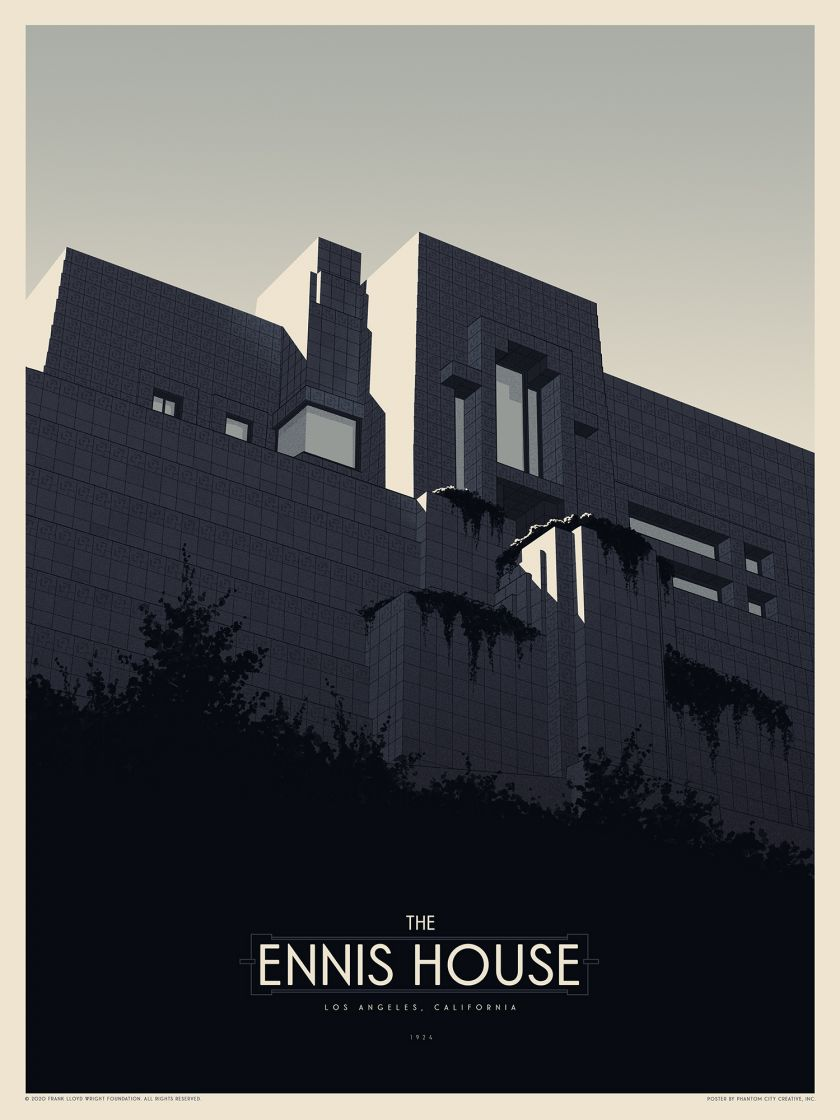 The Ennis House © Phantom City Creative