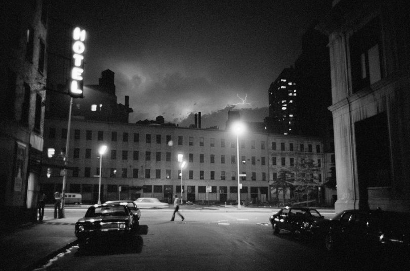6th Street & Bowery 1973   © Edward Grazda