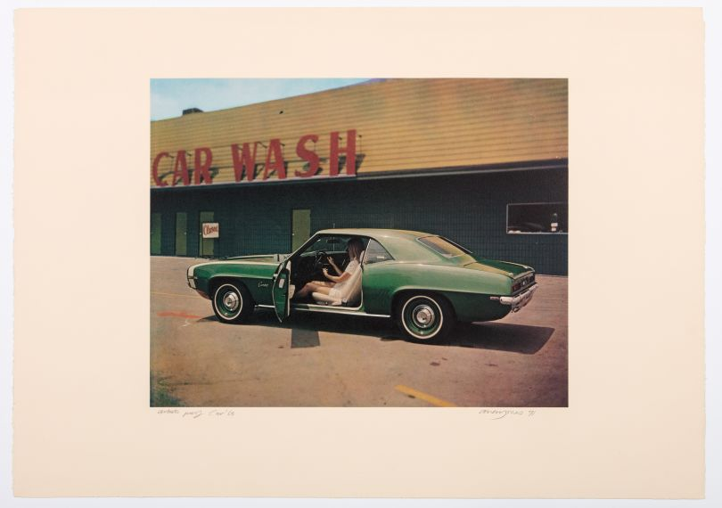Allen Jones, Florida Suite Car D, 1968