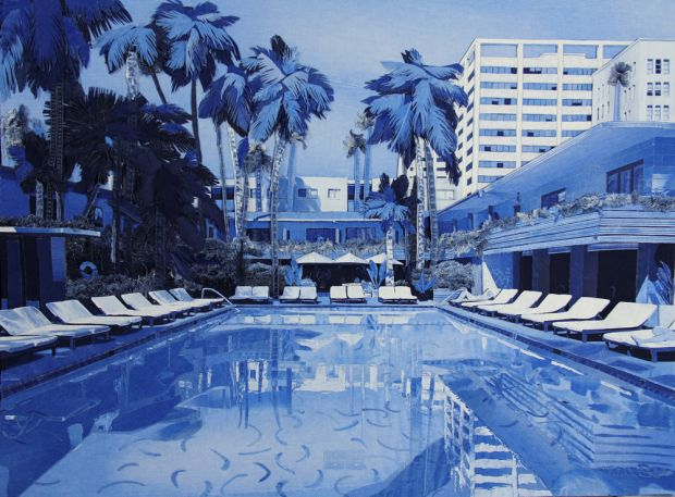 Roosevelt Hotel, LA – 92 x 122cm. All images courtesy and copyright of Ian Berry.