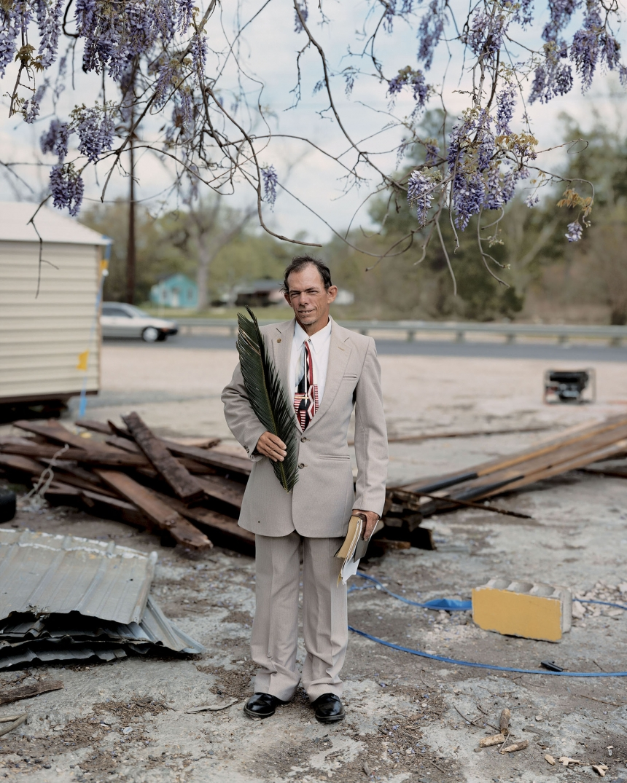 Patrick, Palm Sunday, Baton Rouge, LA, 2002 © Alec Soth / Magnum Photos courtesy Sean Kelly Gallery, New York and Beetles + Huxley Gallery, London