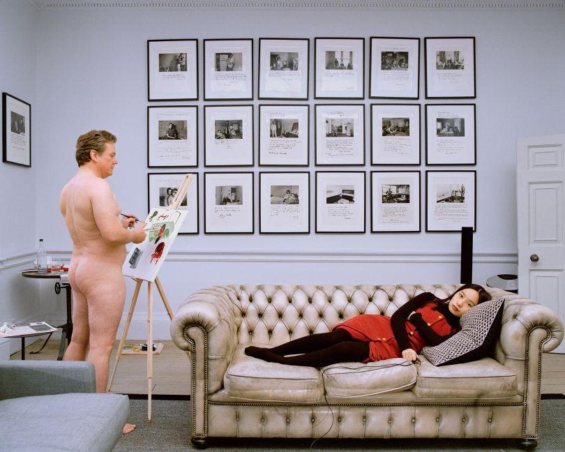 Yushi Li, The artist portrait (collector 1), 2019
