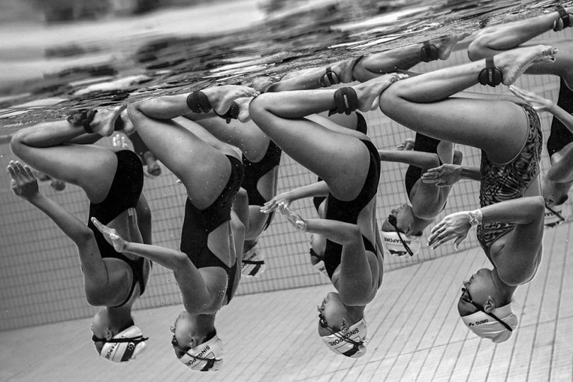Underwater Grace by Jonathan Yeap Chin Tiong, Singapore, Shortlist, Sport, Professional Competition, 2015 Sony World Photography Awards
