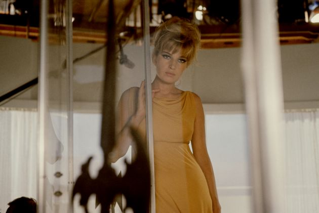 Monica Vitti, Actor, Shepperton, England, 1965 © Susan Wood