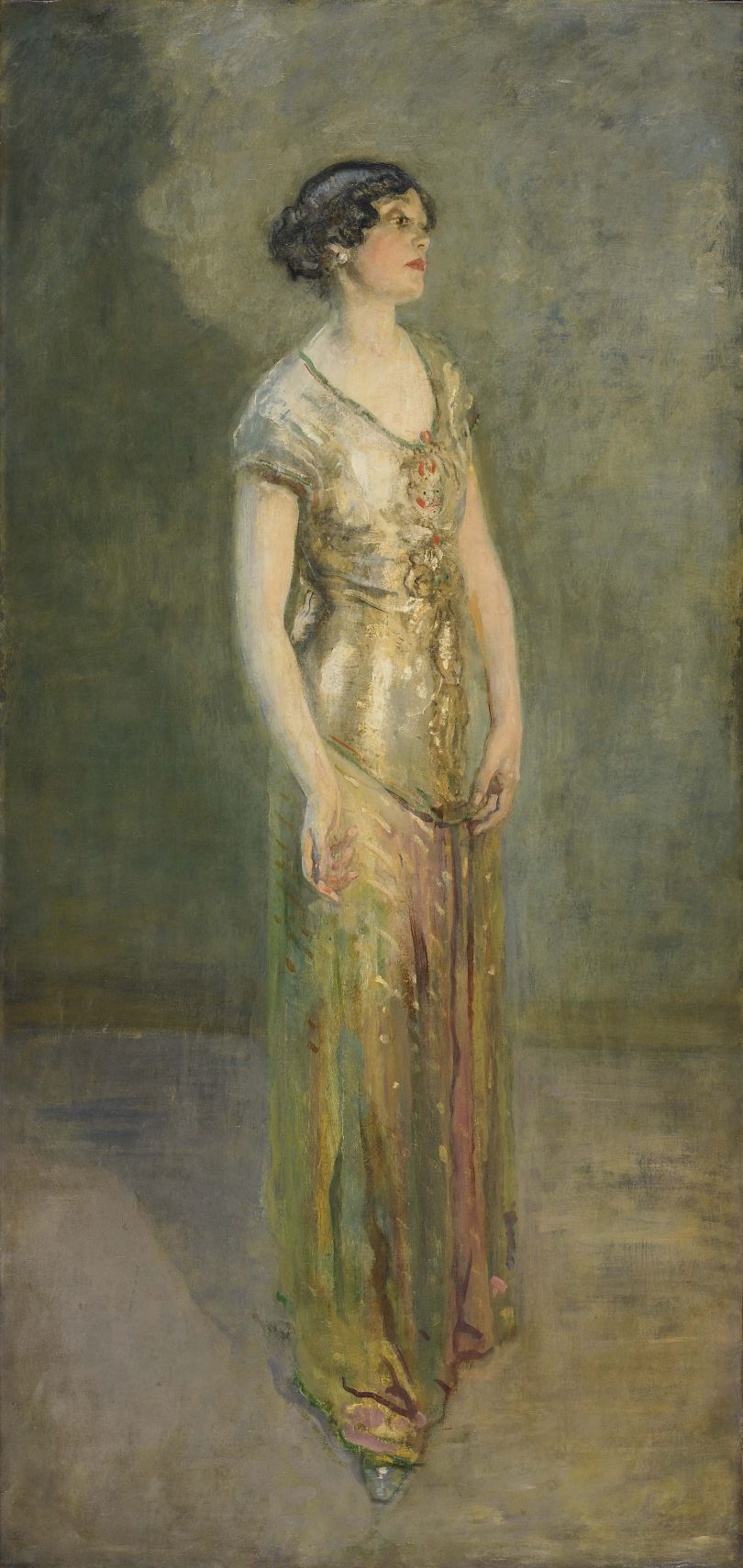 Mrs Cecil Baring (1916) – Ambrose McEvoy (1877-1927). Copyright: National Museums Liverpool, Walker Art Gallery, Presented by Arthur Pollen 1967