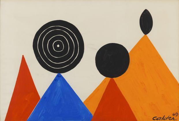 Sur les Pointes, 1969 | Courtesy of Saatchi Gallery © Alexander Calder