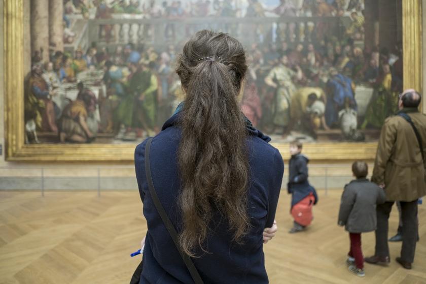 Mona Lisa, Louvre, Paris, France 12 of 30