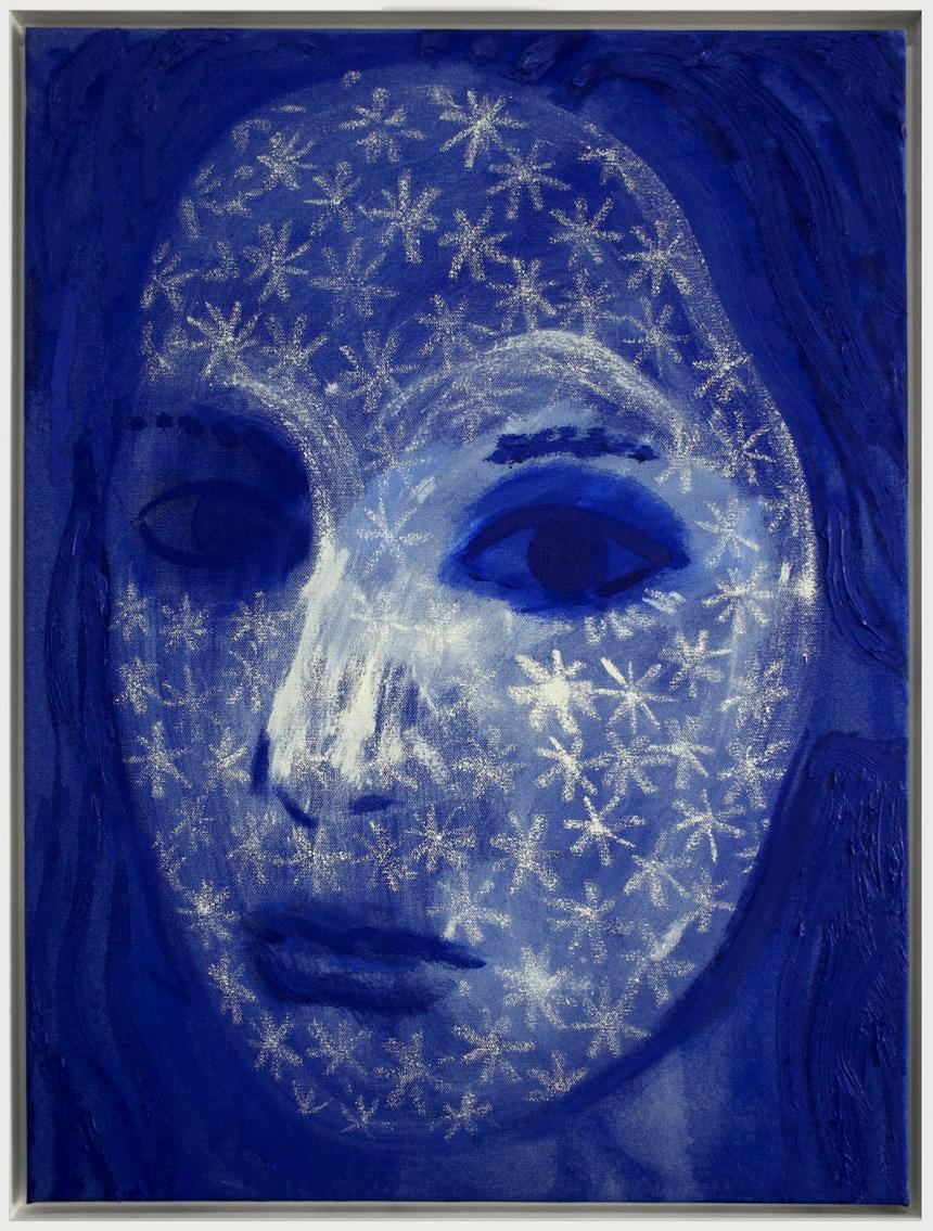 Erik Olson, EL (2017), Oil on Canvas, 80x60cm