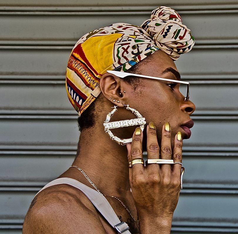 BRONX (Earring) © Ruben Natal-San Miguel
