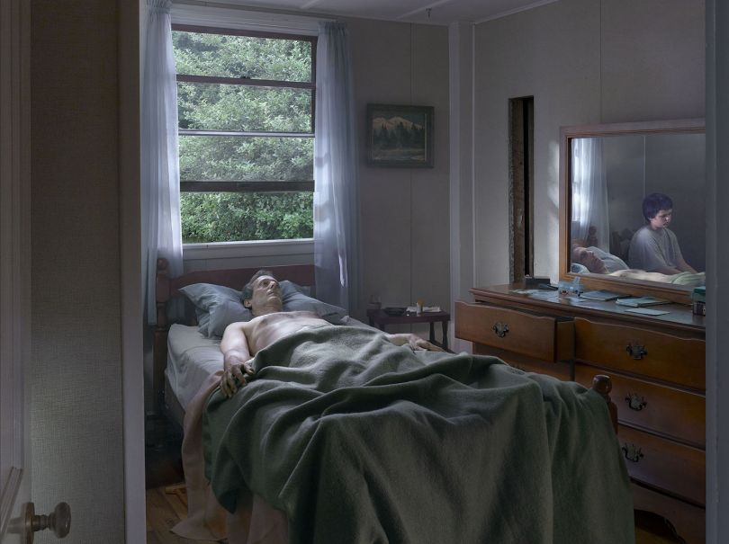 Gregory Crewdson Father and Son, 2013 © Gregory Crewdson Courtesy Gagosian Gallery