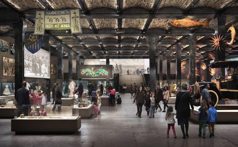 Proposed General Market Basement Gallery © Secchi Smith