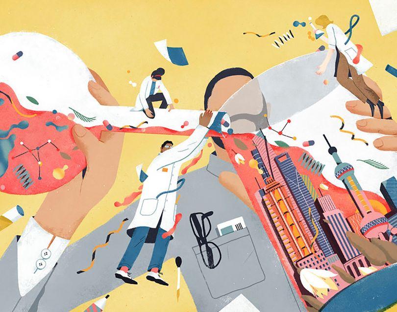 Illustration by Yulong Lli