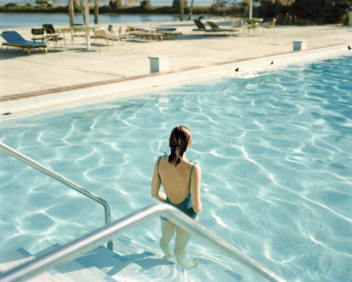 Stephen Shore Ginger Shore, Causeway Inn, from Uncommon Places 1977 C-Print PS W 610 x H 510 unmounted