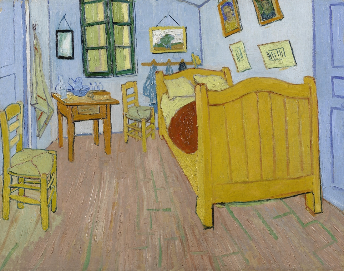 The Bedroom. Vincent van Gogh (1853 - 1890), Arles, October 1888. Credit: Van Gogh Museum, Amsterdam (Vincent van Gogh Foundation)