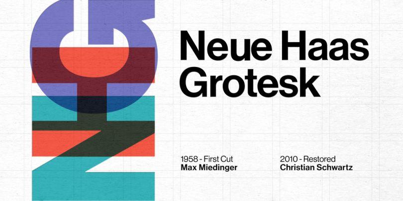 Neue Haas Grotesk by Monotype