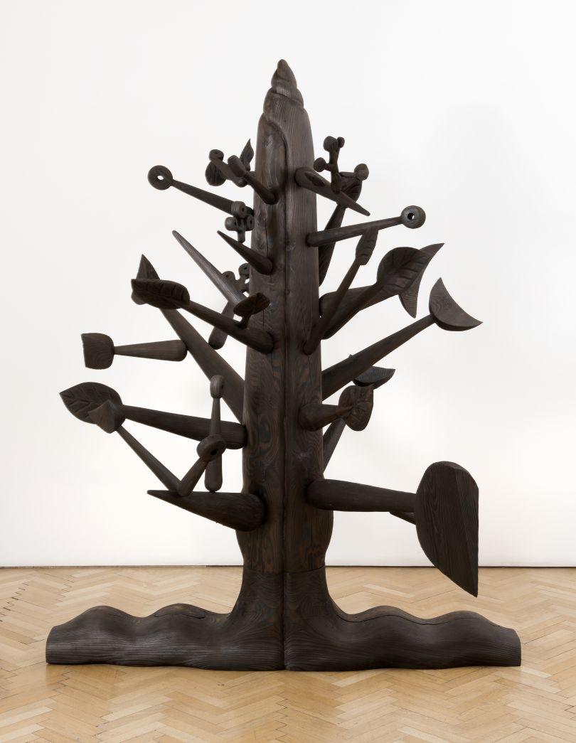 Ibrahim El-Salahi, Meditation Tree, 2018